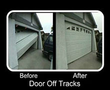 Garage Door Off Track